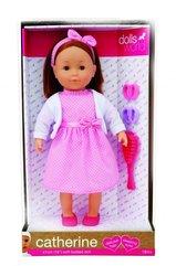 Lalka Catherine ciemne włosy 41 cm