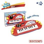 Organy elektroniczne 22 klawisze ze świecącą kulą