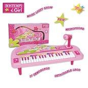 Pianino elektroniczne z mikrofonem 37 klawiszy