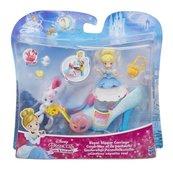 Disney Księżniczki Mini laleczki z pojazdami Royal Slipper Carriage
