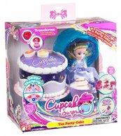 Cupcake Zestaw deser lodowy fioletowa