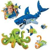 Bloco Zwierzęta morskie 235 elementów