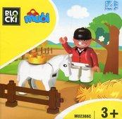 Klocki Blocki MUBI Figurka Jeździec