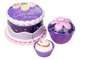 Cupcake zestaw Tort fioletowy