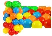 Piłki do suchego basenu w siatce 50 sztuk 7 cm