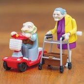 Wyścigowi dziadkowie para