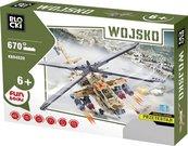 Klocki Blocki Wojsko Helikopter 670 elementów