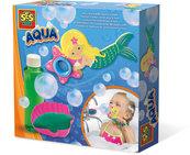 Zestaw do robienia baniek mydlanych w kształcie syrenki Zabawa w kąpieli