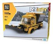 Klocki BLOCKI - MyCity Pług Śnieżny 153 elementy