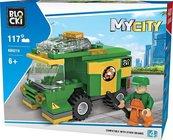 Klocki Blocki MyCity Uliczna zamiatarka 117 elementów