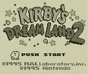 Kirby's Dream Land 2 (3DS) DIGITAL