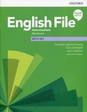 English File Intermediate Workbook with key
