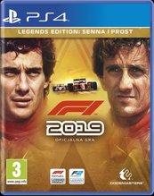 F1 2019 Legends Edition (PS4) PL + BONUS!