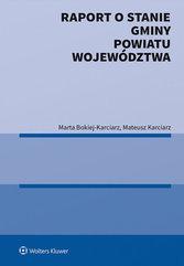 Raport o stanie gminy powiatu województwa