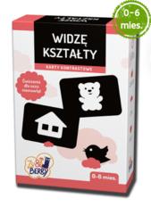 Widzę kształty Zu & Berry dla dzieci od 0-6 mies. (gra karciana)