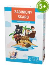 Zaginiony skarb Zu & Berry dla dzieci 5+ (gra planszowa)