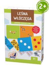 Leśna włóczęga Zu & Berry dla dzieci 2+ (domino edukacyjne)