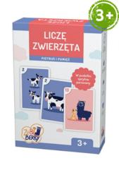 Liczę zwierzęta Zu & Berry dla dzieci 3+ (gra karciana)