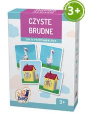 Czyste brudne Zu & Berry dla dzieci 3+ (gra karciana)