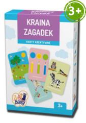 Kraina zagadek Zu & Berry dla dzieci 3+ (gra karciana)