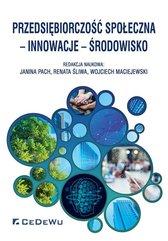 Przedsiębiorczość społeczna innowacje środowisko