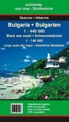Bułgaria 1 : 440000 Mapa samochodowa