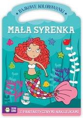 Bajkowe kolorowanki Mała Syrenka