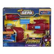 Nerf Avengers - Iron Man Rękawica z wyrzutnią Assembler Gear