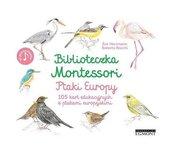 Biblioteczka Montessori Ptaki Europy