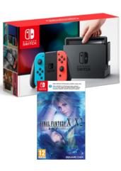 Konsola Nintendo Switch Red & Blue + Final Fantasy X/X-2 HD