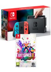 Konsola Nintendo Switch Red & Blue + Just Dance 2019
