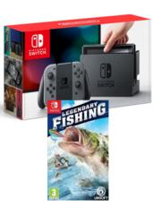 Konsola Nintendo Switch + Legendary Fishing