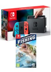 Konsola Nintendo Switch Red & Blue + Legendary Fishing
