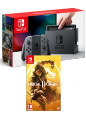 Konsola Nintendo Switch + Mortal Kombat XI