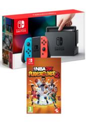 Konsola Nintendo Switch Red & Blue + NBA Playgrounds 2