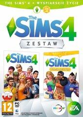 Zestaw The Sims 4 + The Sims 4 Wyspiarskie Życie (PC) PL klucz Origin