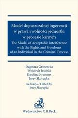 Model dopuszczalnej ingerencji w prawa wolności jednostki w procesie karnym. The Model of Acceptable Interference with the Righ