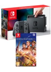 Konsola Nintendo Switch + Sid Meier's Civilization VI