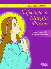 Najświętsza Maryja Panna Kolorowanka