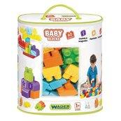 Baby Blocks torba 60 sztuk