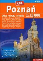 Poznań XXL city 1:15 000 atlas miasta i okolic