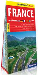 Francja mapa samochodowa 1:1 050 000