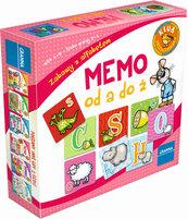 Memo od A do Ż - zabawy z alfabetem