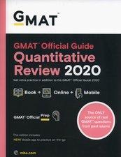 GMAT Official Guide 2020 Quantitative Review: Book + Online Question Bank