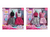 Ubranka dla lalki 30cm
