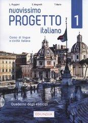 Nuovissimo Progetto italiano 1 Quaderno degli esercizi + CD