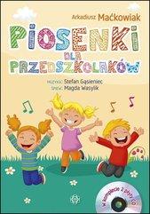 Piosenki dla przedszkolaków Książka + 2 CD