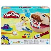 Ciastolina Play Doh, zestaw kreatywny Dentysta
