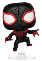 Funko POP Marvel Bobble: Spider-Man Animated - Miles Morales