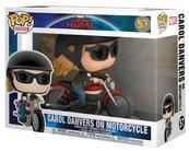 Funko POP Rides: Marvel Captain Marvel - Carol Danvers on Motorcycle